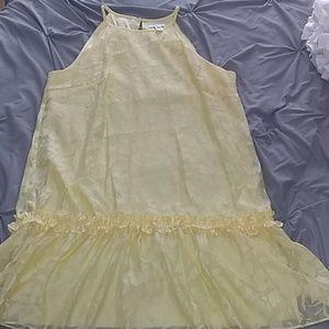 London Times Ruffle Dress